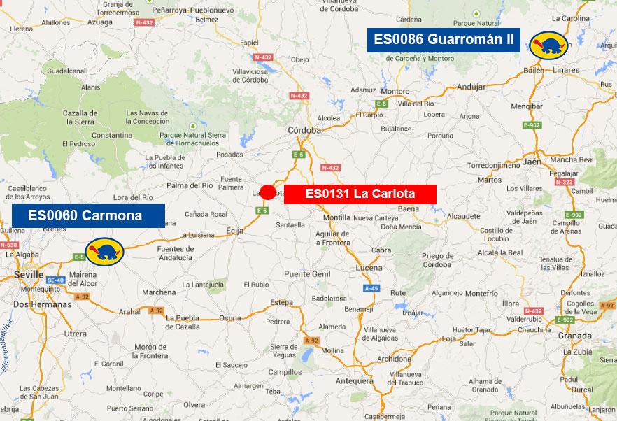 Closure of the ES0131 La Carlota
