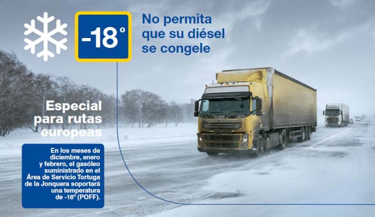 Ya disponible el Gasóleo -18ºC en La Jonquera