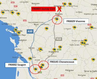 Tancament de l'estació FR0003 Jaunay Clan
