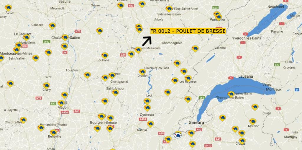 L'estació de Poulet de Bresse es reincorpora a Redtortuga