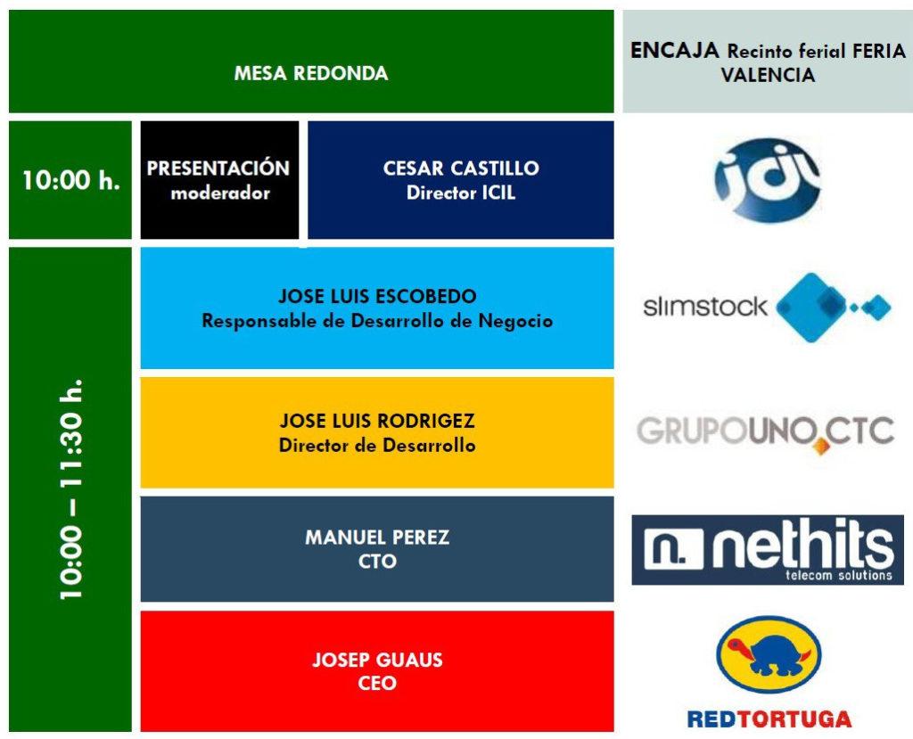 Redtortuga presente en la mesa redonda de ICIL en Valencia Encaja