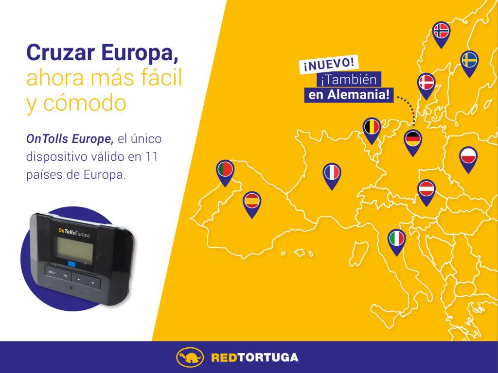 Arriba OnTolls Europe, el nou dispositiu de peatge únic