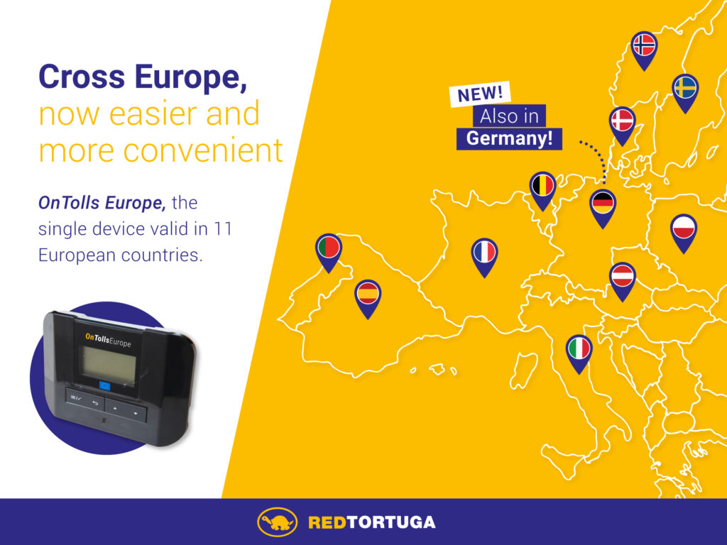 OnTolls Europe is here, the new single toll device