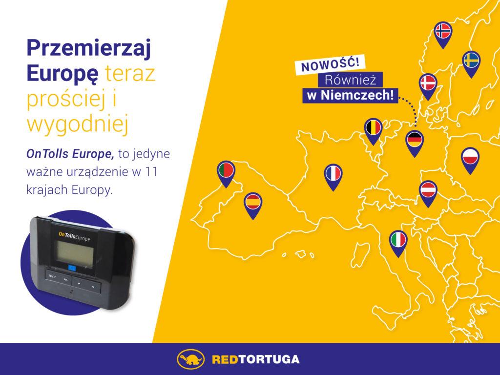 OnTolls Europe – nowe unikalne urządzenie do poboru opłat drogowych