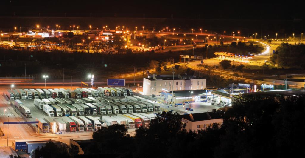 Naše parkoviště v lokalitě La Jonquera získalo jako certifikaci organizace ESPORG zlatou kategorii GOLD