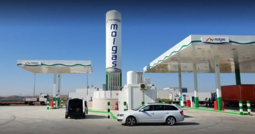 We're adding eight new self-service natural gas stations in Spain