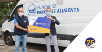 OnTurtle donates €14,045 to the Barcelona Food Bank to improve the situation caused by COVID-19