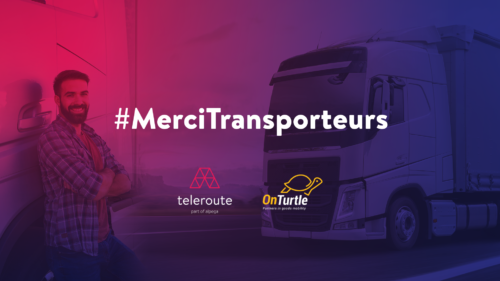 OnTurtle and Teleroute organise a roadshow to thank carrieres for their hard work during the Covid-19 crisis