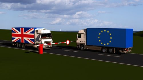 What are the customs processes to transport goods to Great Britain?