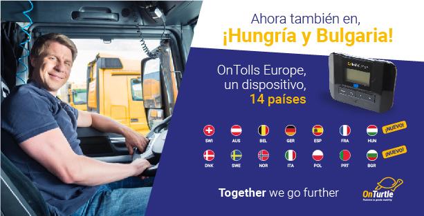 Bulgària es suma al nostre dispositiu de peatge únic OnTolls Europe