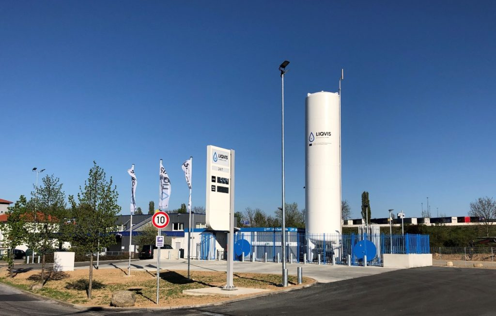 We have opened seven new gas stations in France and Germany